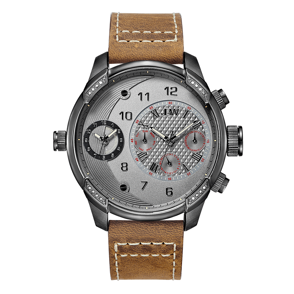 jbw-g3-j6325f-gunmetal-brown-leather-diamond-watch-front