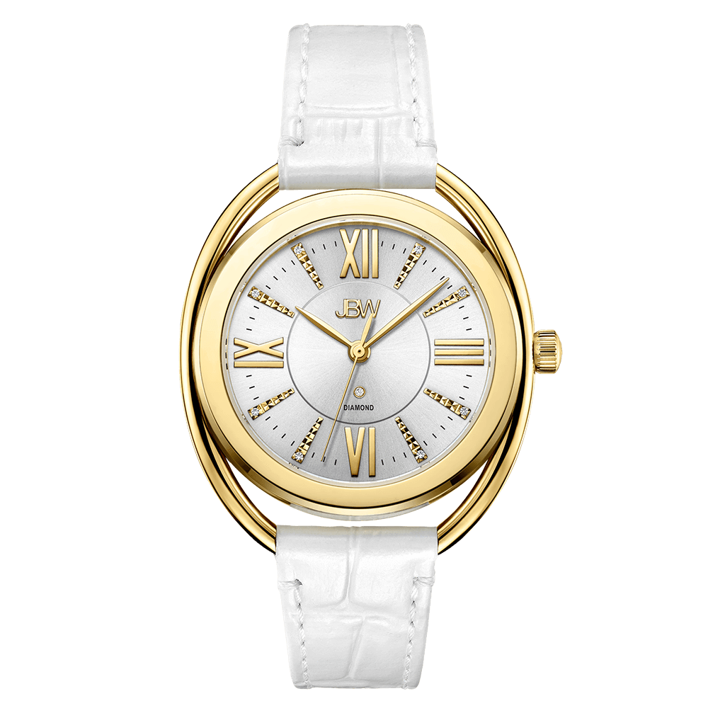 marc jacobs by watch watches white product lyst accessories gallery stainless leather in metallic silver steel
