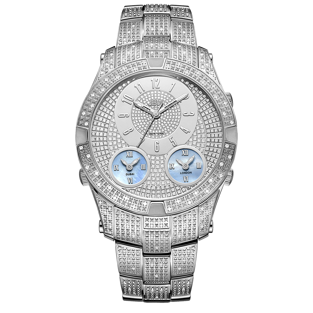 jbw-jet-setter-III-j6348b-stainless-steel-diamond-watch-front