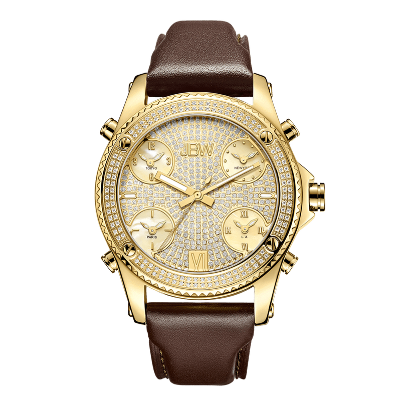 jbw-jetsetter-j6354a-gold-brown-leather-diamond-watch-front