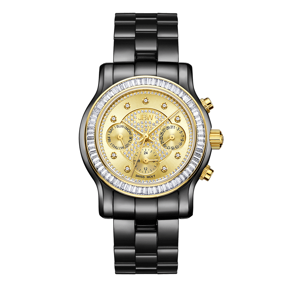 jbw-laurel-j6330h-two-tone-black-gold-diamond-watch-front
