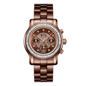 jbw-laurel-j6330i-two-tone-brown-rosegold-diamond-watch-front