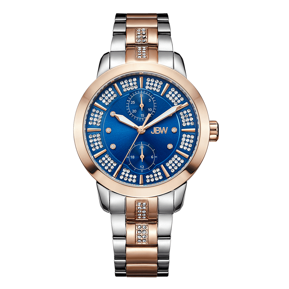 jbw-lumen-j6341c-two-tone-stainless-steel-rosegold-diamond-watch-front