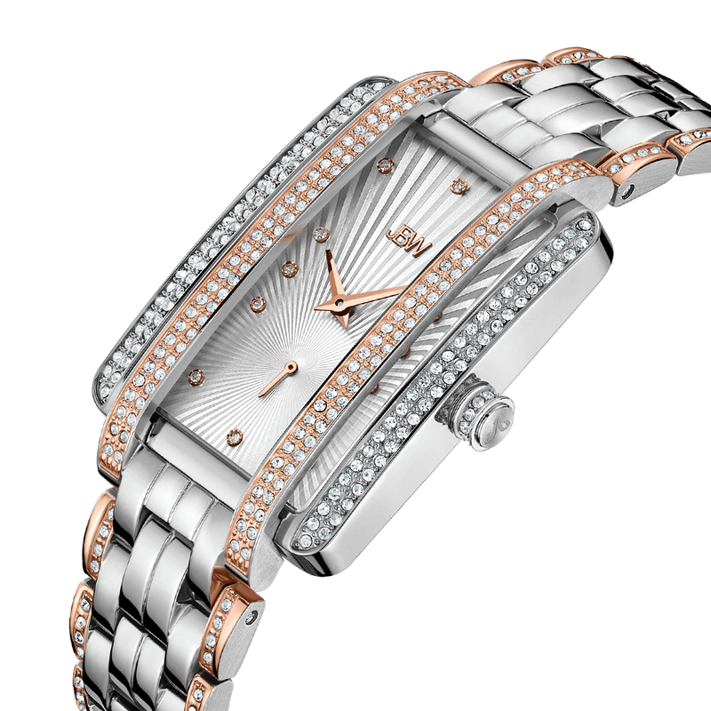 Jbw Mink J6358d Two Tone Rose Gold Stainless Steel Diamond Watch Angle_d7049f55 Efa4 4a04 A75b F6edfbd6ebd3