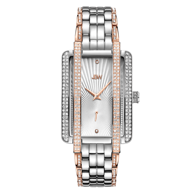 Jbw Mink J6358d Two Tone Rose Gold Stainless Steel Diamond Watch Front_bb78f942 821d 4e8b Bdad 648a57050310