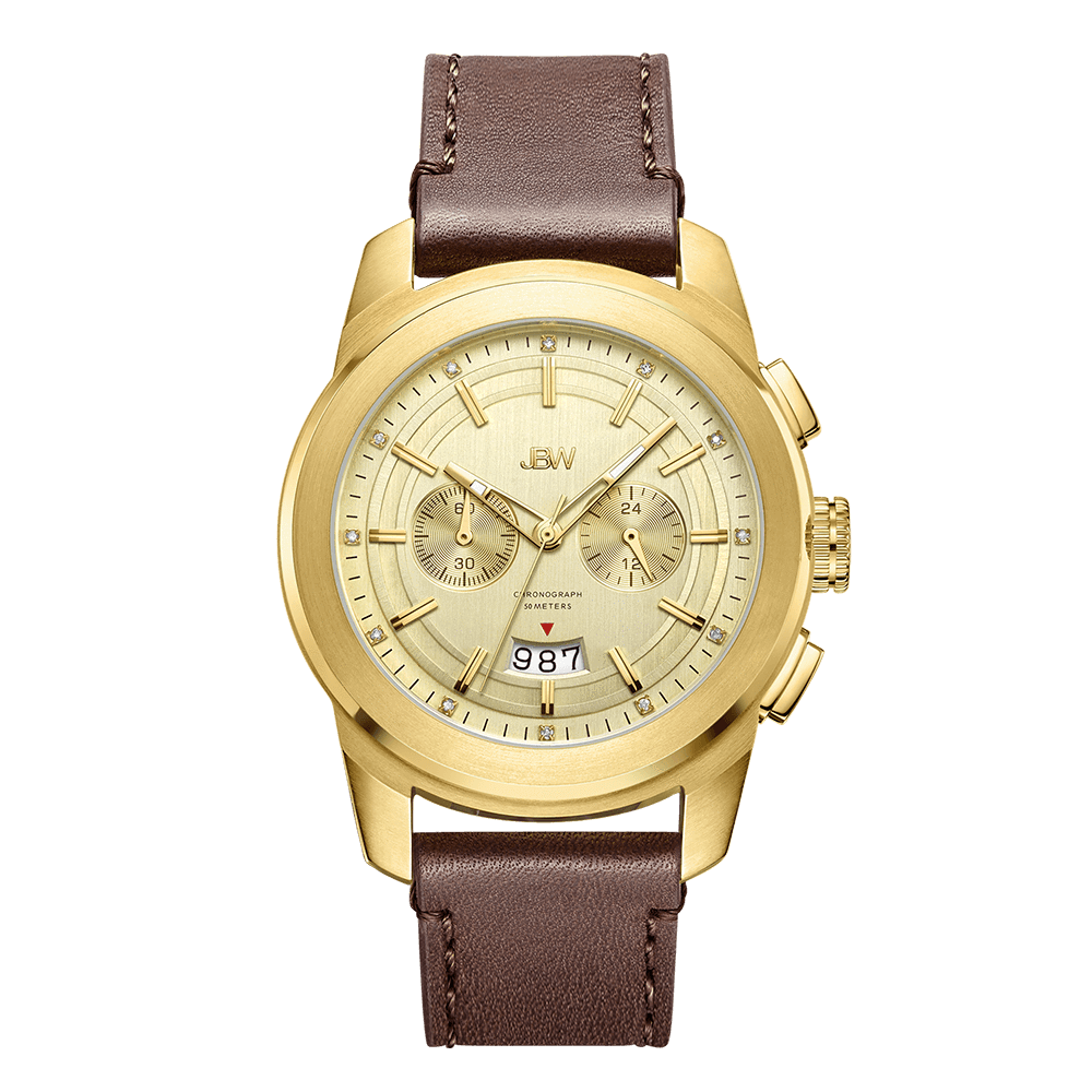 jbw-mohawk-j6352b-gold-brown-leather-diamond-watch-front