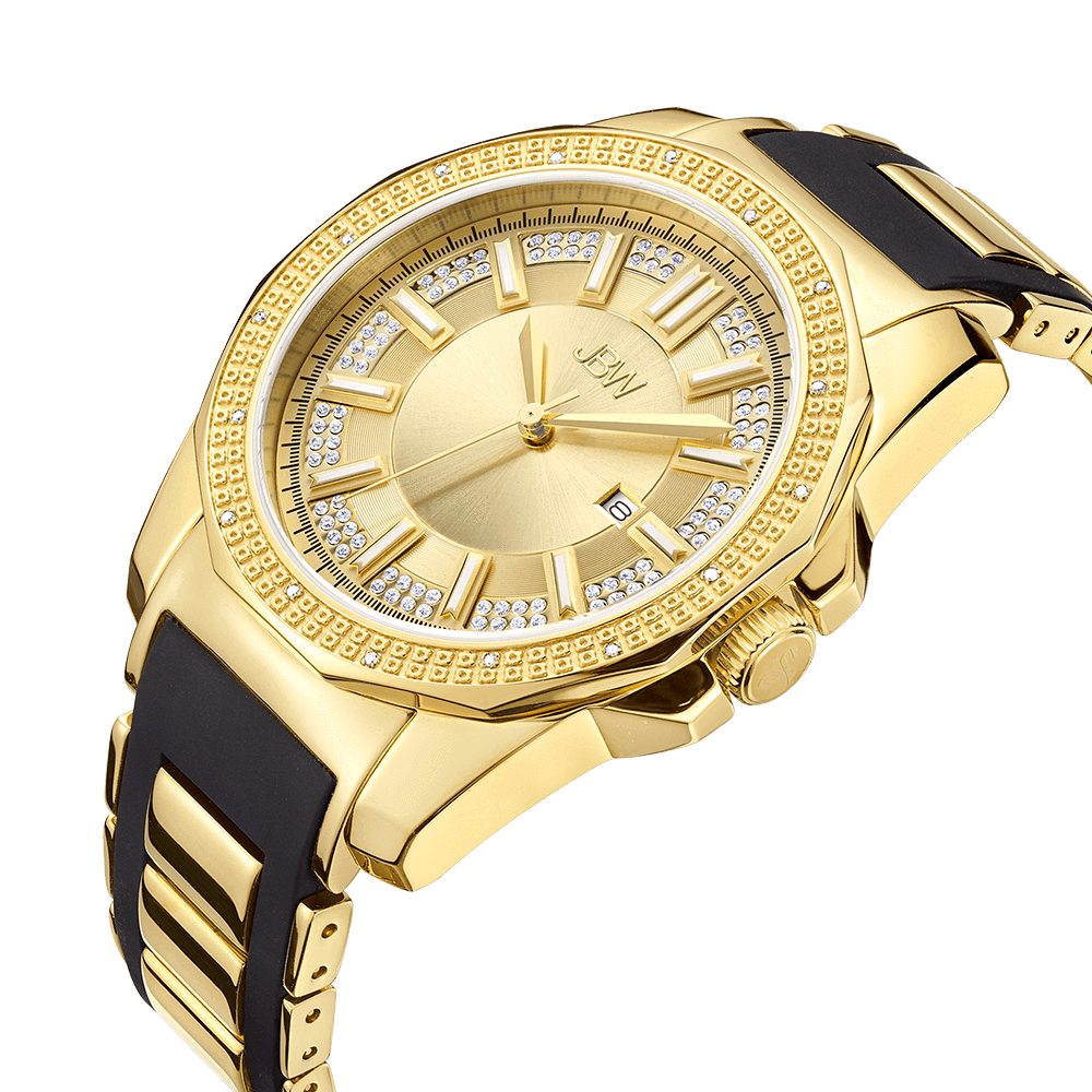 jbw-regal-j6332a-gold-black-silicone-diamond-watch-angle