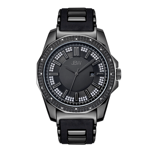 jbw-regal-j6332b-gunmetal-black-silicone-diamond-watch-front