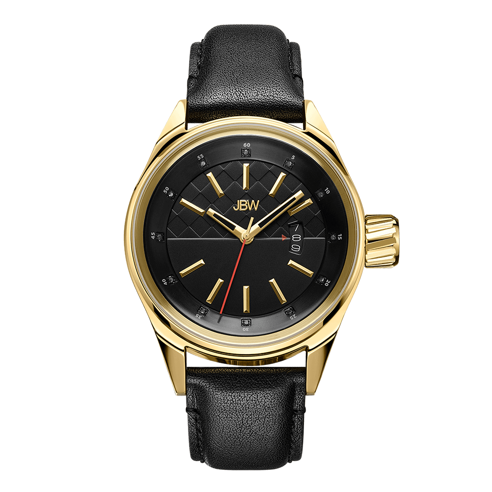 jbw-rook-j6287d-gold-black-leather-diamond-watch-front
