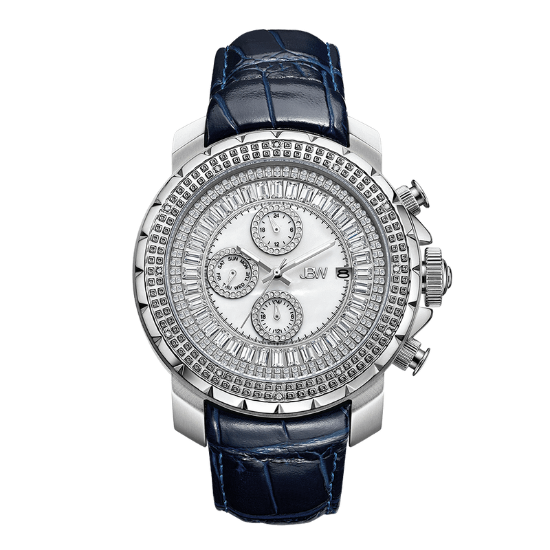 jbw-titus-j6347l-e-stainless-steel-navy-leather-diamond-watch-front