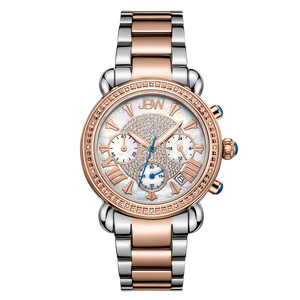 jbw-victory-jb-6210-n-two-tone-stainless-steel-rosegold-diamond-watch-front