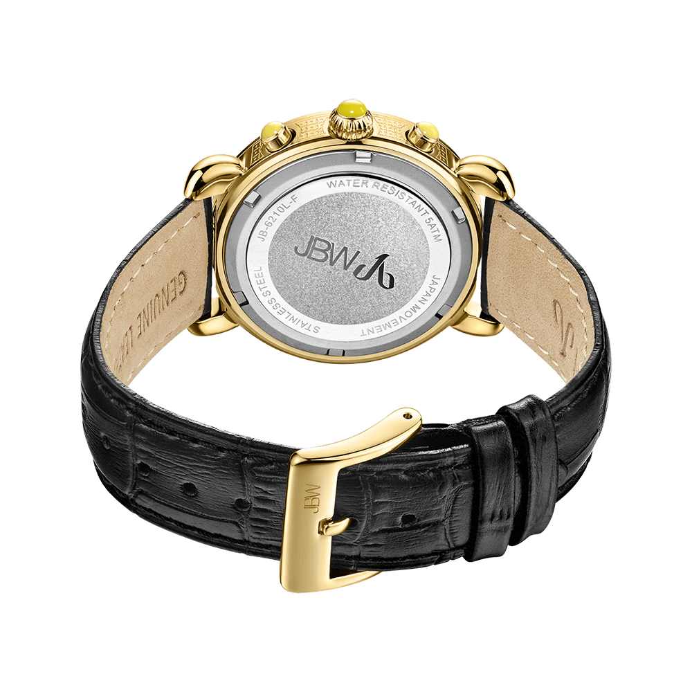 jbw-victory-jb-6210l-f-gold-black-leather-diamond-watch-back