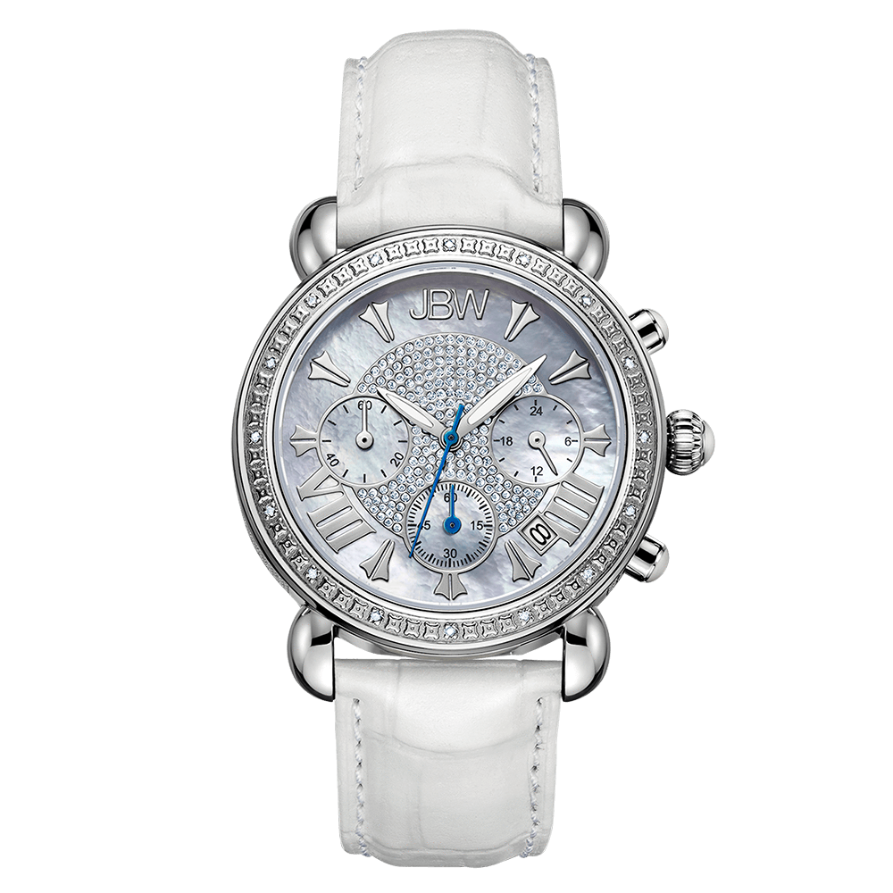 jbw-victory-jb-6210l-q-stainless-steel-white-leather-diamond-watch-front