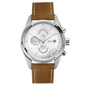 jbw-woodall-j6300b-stainless-steel-brown-leather-diamond-watch-front
