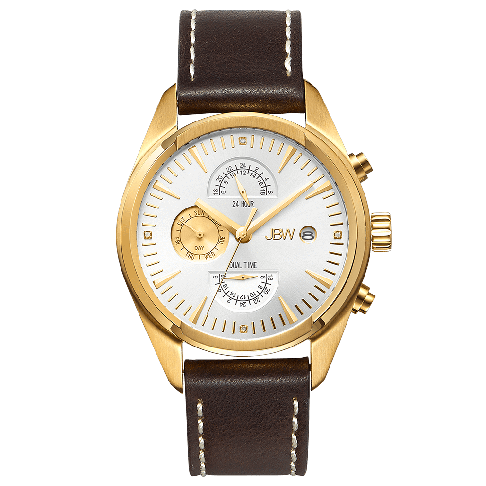 jbw-woodall-j6300d-gold-brown-leather-diamond-watch-front