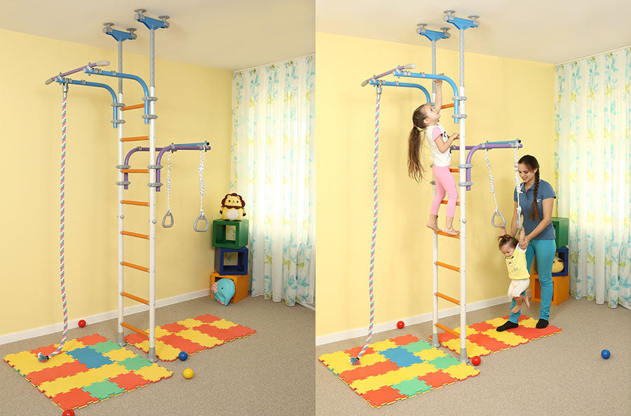 Wallbarz Transformer - Indoor Playground Kids Climbing Gym ...