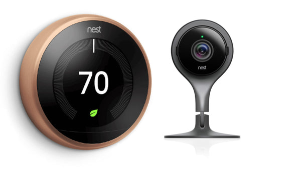 3rd Gen Nest Learning Thermostat - Copper + Indoor Security Camera image 3834742571031