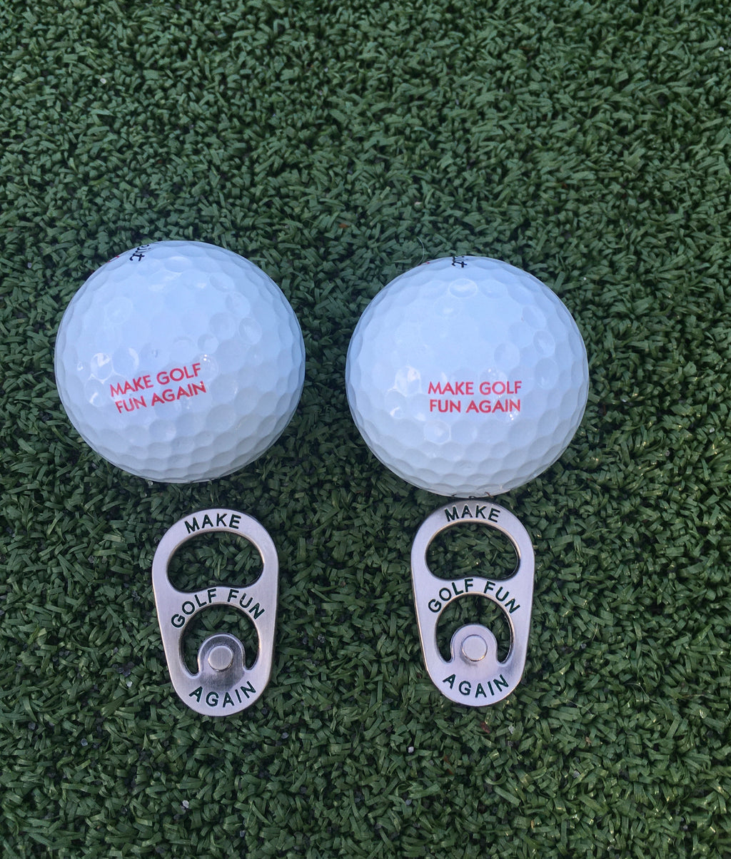 Beer Tab Ball Marker - Two Pack