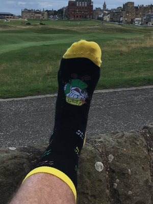 MAKE GOLF FUN AGAIN® custom Circle Socks