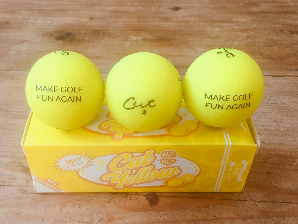 Cut Golf - Yellow