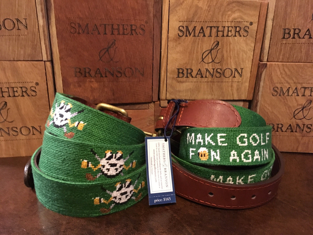 MAKE GOLF FUN AGAIN® Custom Smathers & Branson Belt