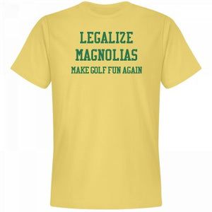 Legalize Magnolias Tee / Banana Cream