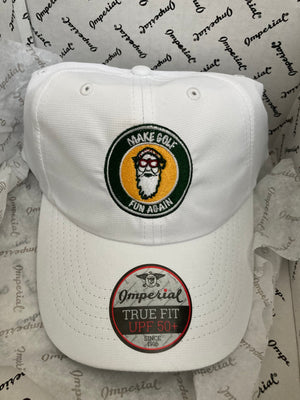 Augusta Collection Cap | White with New Masters Emblem