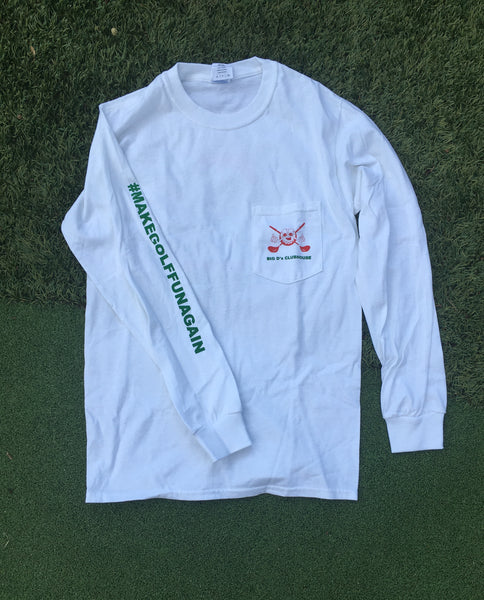 T-shirt - Long sleeve White Xmas