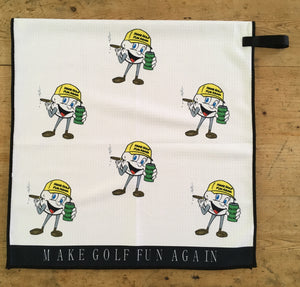 MAKE GOLF FUN AGAIN® Logo Tour Towel