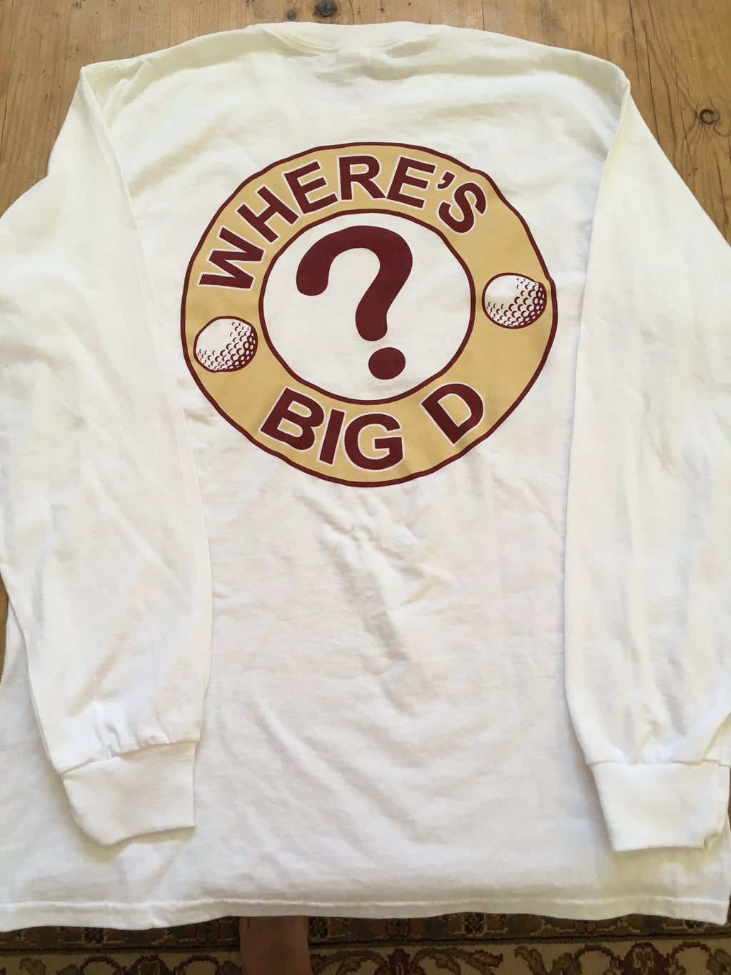 "T-shirt - ""Where's Big D?"" Long Sleeve (FSU)"