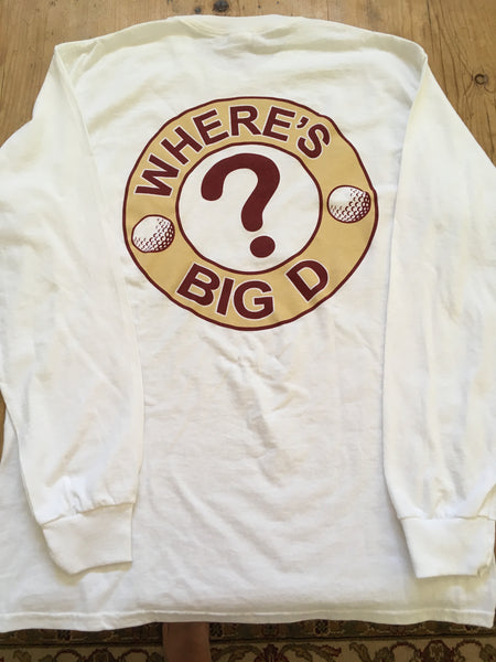 """Where's Big D?"" Long Sleeve t-shirt (FSU)"