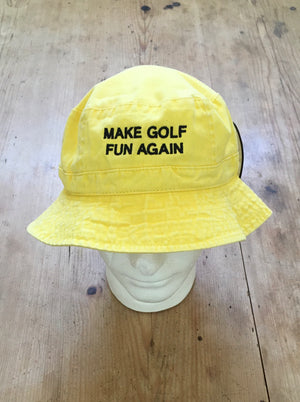Play Yellow  Bucket Hat