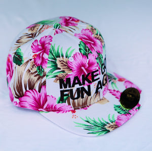 DPS - Full Pink Floral / Black