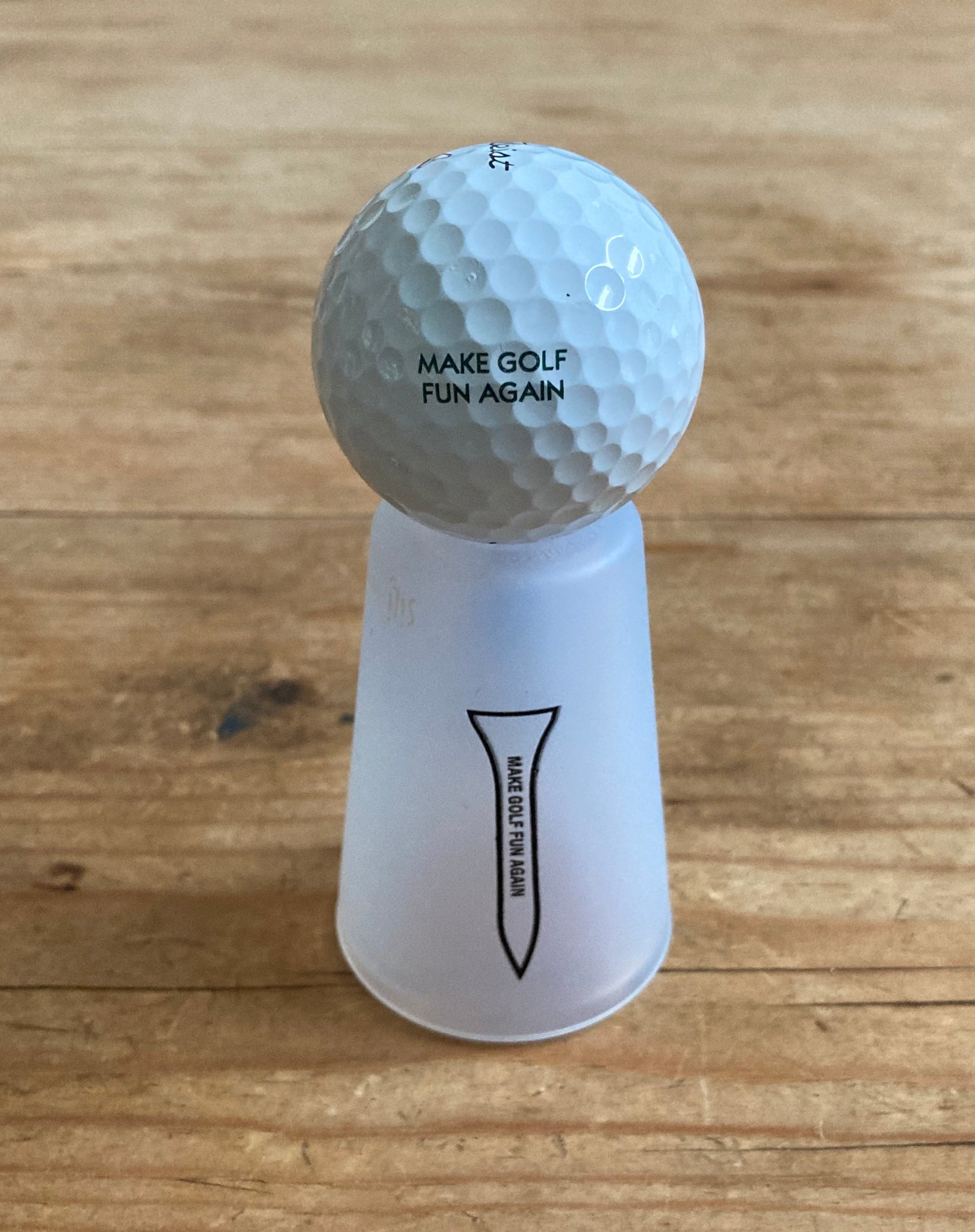 Big D Collection - Tee Shot Glass