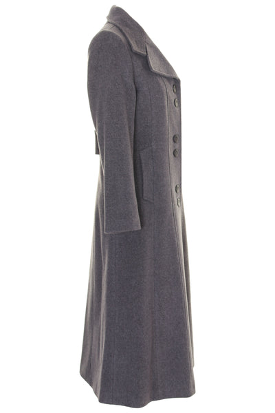 8b5ebd7828f Busy Clothing Women Wool Blend Long Coat Grey Melange – Busy ...