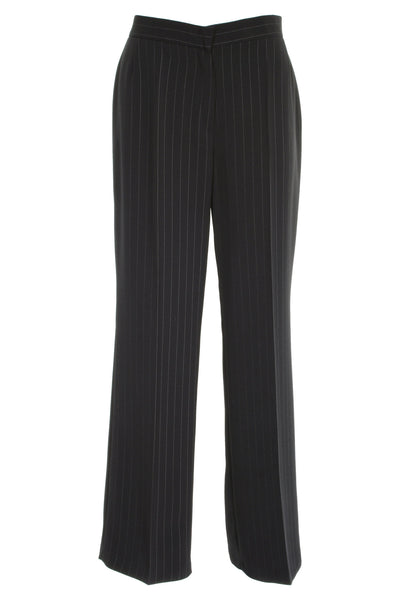 Busy Clothing Womens Smart Black Stripe Trousers Busy