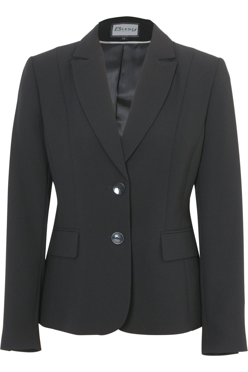 Busy Clothing Womens Black Suit Jacket - Busy Corporation Ltd