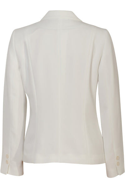 Busy Clothing Womens Light Cream Off White Suit Jacket