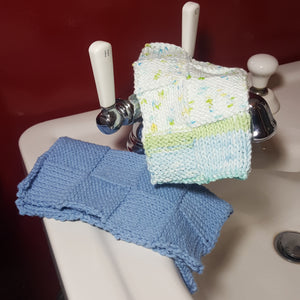 Knit Washcloth Set-Linens-in2ition mercantile
