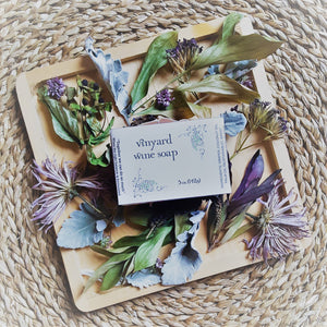 Vinyard Wine Soap-Wash-in2ition mercantile