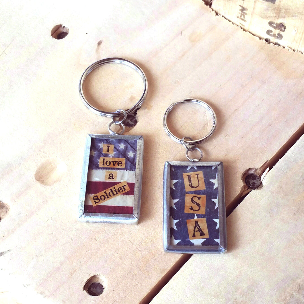 USA Key Chain-Bags/Wallets-in2ition mercantile