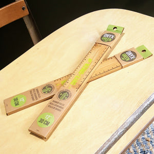 Bamboo Ruler-Decor-in2ition mercantile