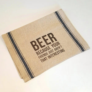Beer Bar Towel-Linens-in2ition mercantile