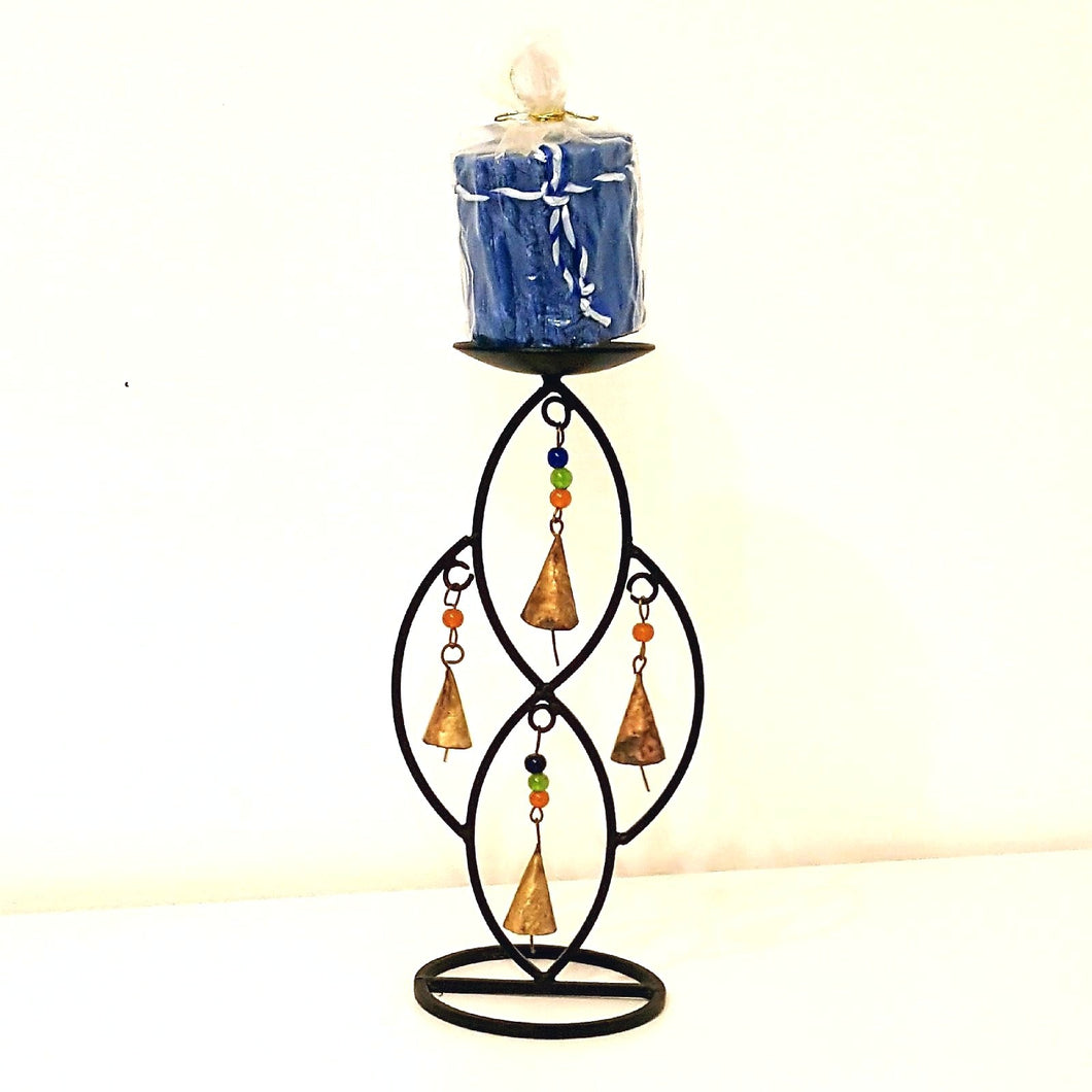 Bells & Beads Holder & Candle-Decor-in2ition mercantile