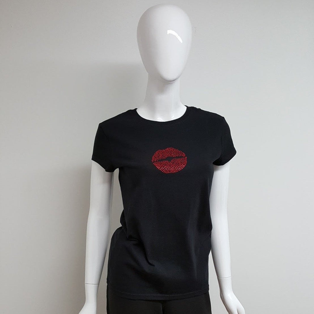 Betsy Lip Service Tee-Women-in2ition mercantile