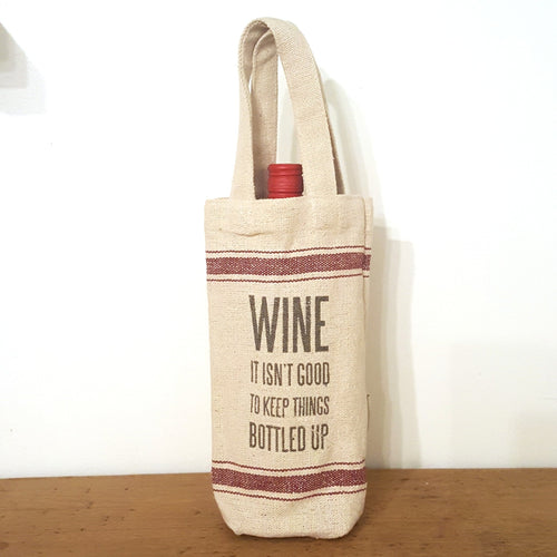 Burlap Gift Bag-in2ition mercantile