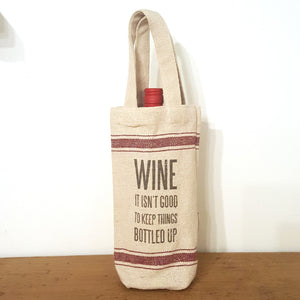 Burlap Gift Bag-Wares-in2ition mercantile