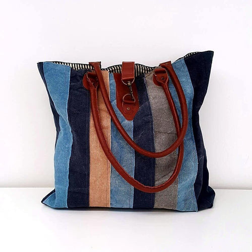 Canvas Beach Bag-in2ition mercantile