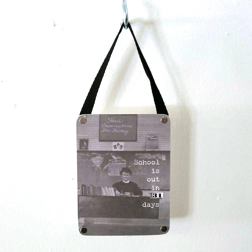 Countdown Wall Hanging-in2ition mercantile