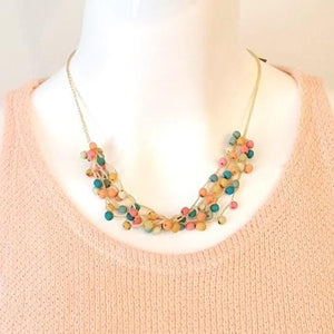 Crochet Chirilla Necklace-in2ition mercantile